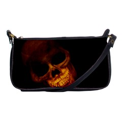 Laughing Skull Shoulder Clutch Bags by StarvingArtisan