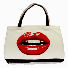 Sexy Lips Basic Tote Bag