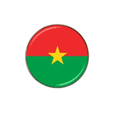 Flag Of Burkina Faso Hat Clip Ball Marker (4 Pack) by abbeyz71