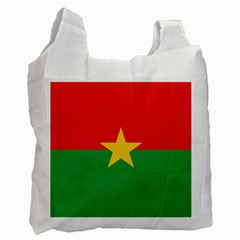 Flag Of Burkina Faso Recycle Bag (one Side) by abbeyz71