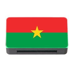 Flag Of Burkina Faso Memory Card Reader With Cf by abbeyz71