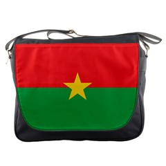 Flag Of Burkina Faso Messenger Bags