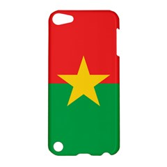 Flag Of Burkina Faso Apple Ipod Touch 5 Hardshell Case by abbeyz71