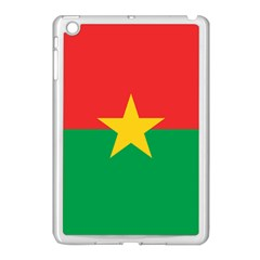 Flag Of Burkina Faso Apple Ipad Mini Case (white) by abbeyz71