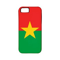 Flag Of Burkina Faso Apple Iphone 5 Classic Hardshell Case (pc+silicone) by abbeyz71