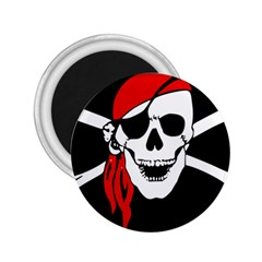Pirate Skull 2 25  Magnets by StarvingArtisan