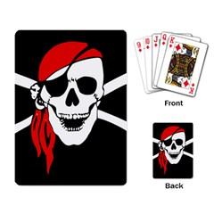 Pirate Skull Playing Card