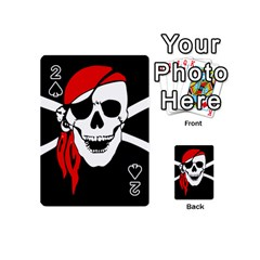 Pirate Skull Playing Cards 54 (mini)