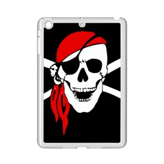 Pirate Skull Ipad Mini 2 Enamel Coated Cases by StarvingArtisan