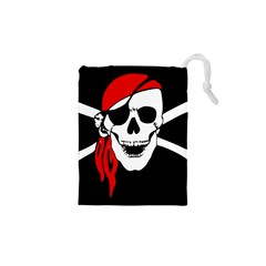 Pirate Skull Drawstring Pouches (xs)  by StarvingArtisan