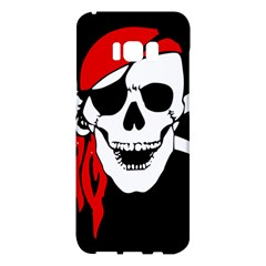 Pirate Skull Samsung Galaxy S8 Plus Hardshell Case  by StarvingArtisan