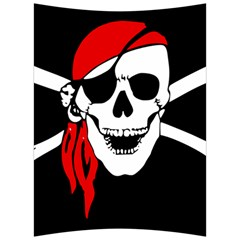 Pirate Skull Back Support Cushion by StarvingArtisan
