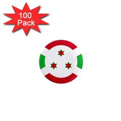 Flag Of Burundi 1  Mini Magnets (100 Pack)  by abbeyz71