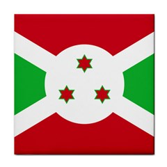 Flag Of Burundi Face Towel by abbeyz71