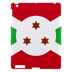 Flag Of Burundi Apple Ipad 3/4 Hardshell Case by abbeyz71