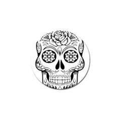 Sugar Skull Golf Ball Marker (10 Pack) by StarvingArtisan