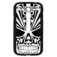 Tribal Sugar Skull Samsung Galaxy Grand Duos I9082 Case (black) by StarvingArtisan