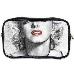 Blonde Bombshell Toiletries Bags 2 Side by StarvingArtisan