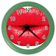 Oooooh Color Wall Clocks by StarvingArtisan