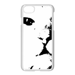 Cat Apple Iphone 8 Seamless Case (white) by StarvingArtisan