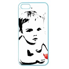 Cupid s Heart Apple Seamless Iphone 5 Case (color) by StarvingArtisan