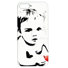 Cupid s Heart Apple Iphone 5 Hardshell Case With Stand