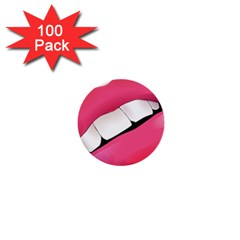 Smile 1  Mini Buttons (100 Pack)
