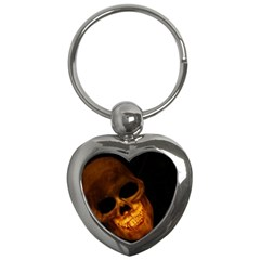 Skull Key Chains (heart)