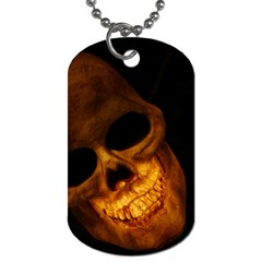 Skull Dog Tag (one Side) by StarvingArtisan
