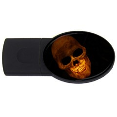 Skull Usb Flash Drive Oval (4 Gb)
