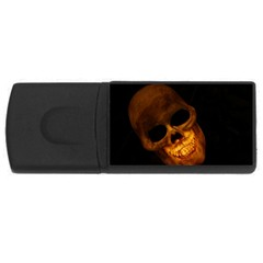 Skull Rectangular Usb Flash Drive