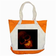 Skull Accent Tote Bag