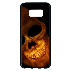 Skull Samsung Galaxy S8 Plus Black Seamless Case