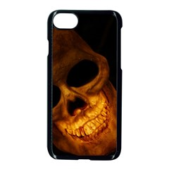 Skull Apple Iphone 8 Seamless Case (black)