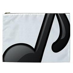 Music Note  Cosmetic Bag (xxl)  by StarvingArtisan
