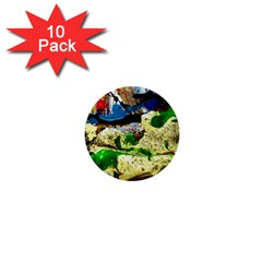Catalina Island Not So Far 4 1  Mini Buttons (10 Pack)  by bestdesignintheworld