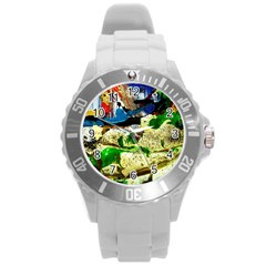 Catalina Island Not So Far 4 Round Plastic Sport Watch (l) by bestdesignintheworld