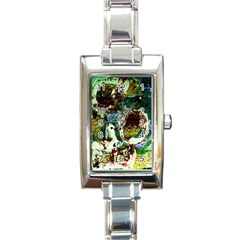 Doves Matchmaking 1 Rectangle Italian Charm Watch by bestdesignintheworld