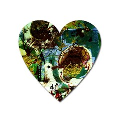 Doves Matchmaking 1 Heart Magnet by bestdesignintheworld