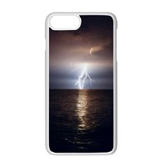 Lightning Apple Iphone 7 Plus Seamless Case (white) by StarvingArtisan