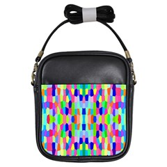 Artwork By Patrick Colorful 35 Girls Sling Bags by ArtworkByPatrick