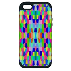 Artwork By Patrick Colorful 35 Apple Iphone 5 Hardshell Case (pc+silicone)