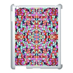 Artwork By Patrick Colorful 38 Apple Ipad 3/4 Case (white) by ArtworkByPatrick