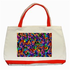 Artwork By Patrick Colorful 39 Classic Tote Bag (red)