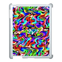 Artwork By Patrick Colorful 40 Apple Ipad 3/4 Case (white) by ArtworkByPatrick