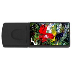 Bow Of Scorpio Before A Butterfly 2 Rectangular Usb Flash Drive by bestdesignintheworld
