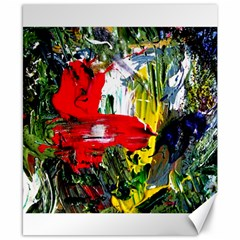 Bow Of Scorpio Before A Butterfly 2 Canvas 8  X 10  by bestdesignintheworld