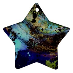 Blue Options 3 Star Ornament (two Sides) by bestdesignintheworld