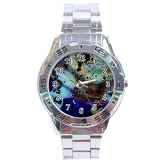 Blue Options 3 Stainless Steel Analogue Watch by bestdesignintheworld