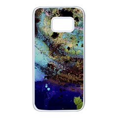 Blue Options 3 Samsung Galaxy S7 White Seamless Case by bestdesignintheworld